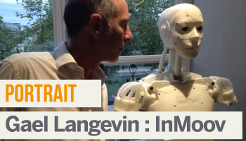 Portrait de Makers #1 > Gael Langevin (InMoov)