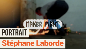 Portrait de Makers #14 > Stéphane Laborde