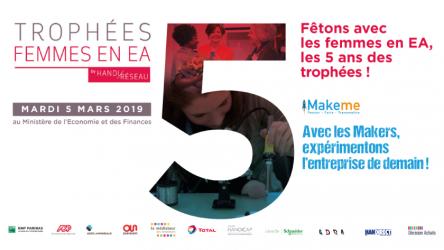 Les Trophées Femmes en EA 2019, les 5 ans en partenariat avec Makeme !