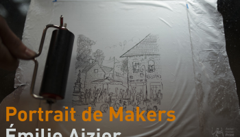 Portrait de Makers #15 > Émilie Aizier
