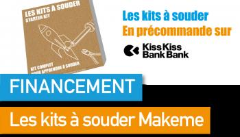 Soutenez Makeme, et ses kits à souder sur KissKissBankBank !