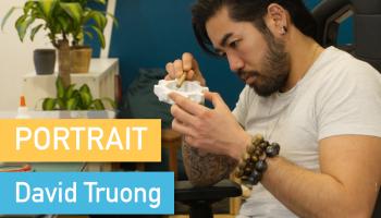 Portrait de Makers #58 > David Truong