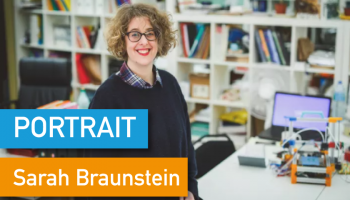 Portrait de Makers #38 > Sarah Braunstein
